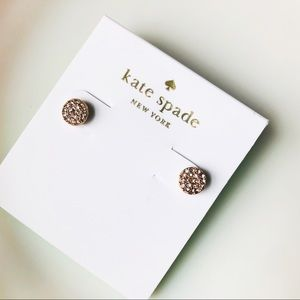 Brand new Kate spade crystals earrings stud